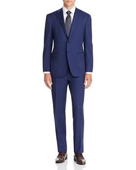 Canali - Siena Tic Weave Classic Fit Suit