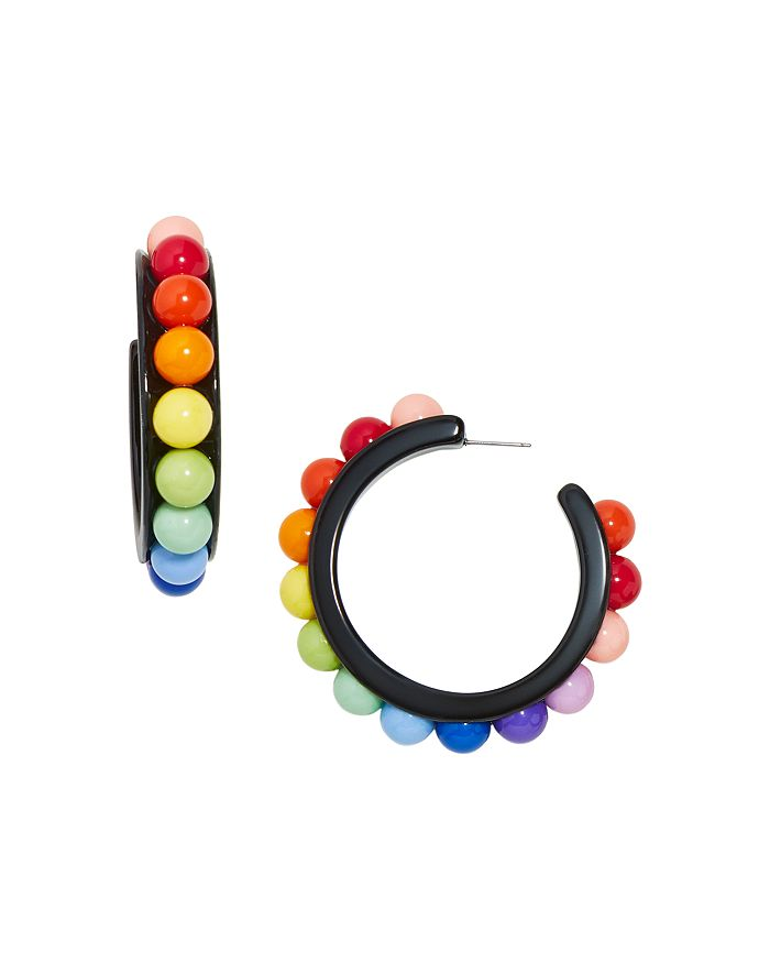 BAUBLEBAR - Portia Multicolor Hoop Earrings