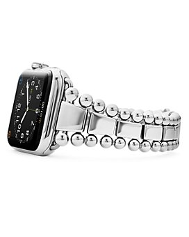 LAGOS - Stainless Steel Smart Caviar Apple™ Watch Band, 42mm