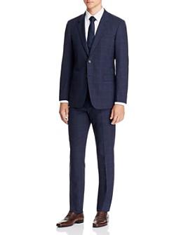 Theory - Mayer Tonal Plaid Slim Fit Suit Separates