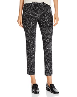 NIC and ZOE - Wonderstretch Printed Ankle Pants