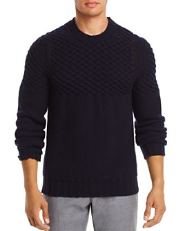 Dylan Gray - Cabled-Yoke Sweater - 100% Exclusive