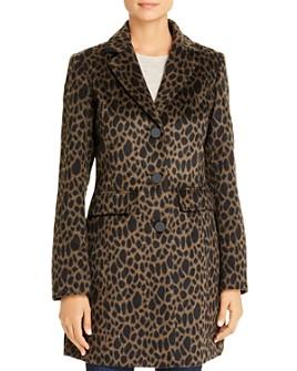 Laundry by Shelli Segal - Leopard-Print Coat
