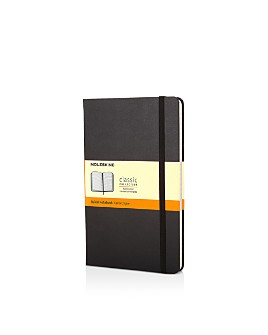 Moleskine - Classic Pocket Hardcover Ruled Notebook