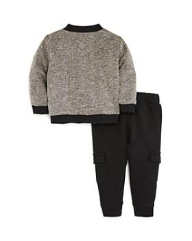 Miniclasix - Boys' Tweed Jacket, Tee & Cargo Pants Set - Baby