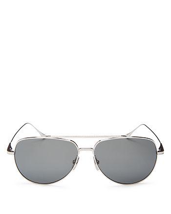 Dita - Men's Polarized Flight 004 Aviator Sunglasses, 61mm