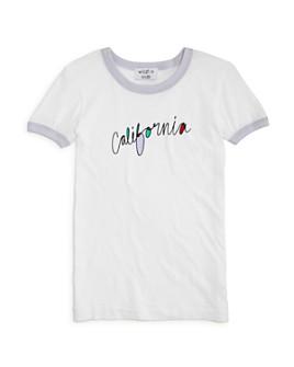 WILDFOX - Girls' California Ringer Tee - Big Kid