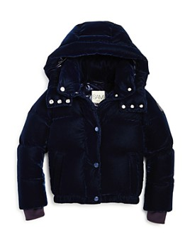 SAM. - Girls' Velvet Sydney Puffer Jacket - Big Kid