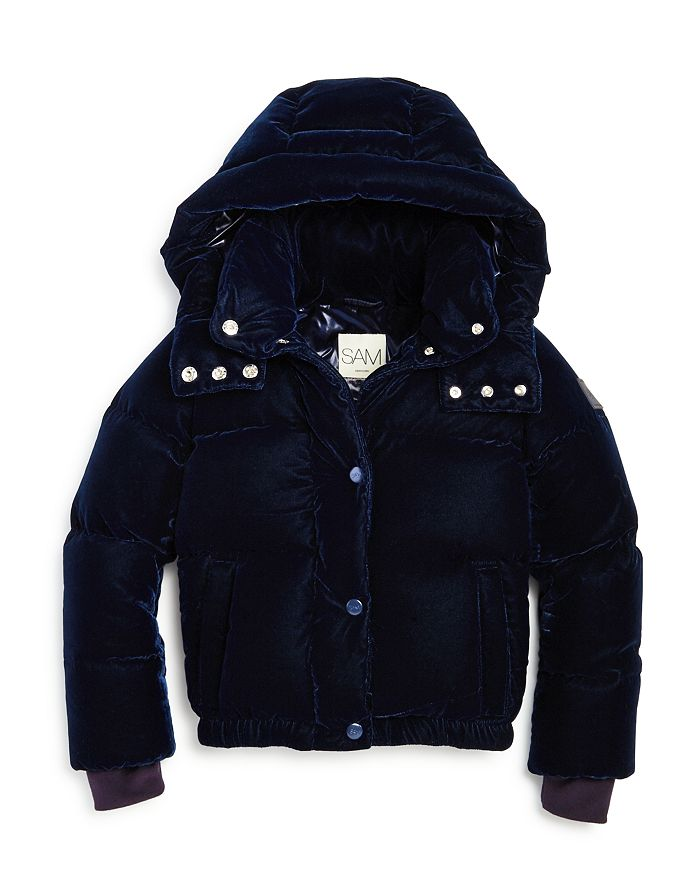 SAM. - Unisex Velvet Sydney Puffer Jacket - Big Kid