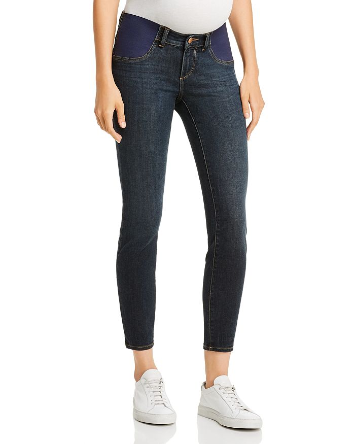 DL1961 - Florence Ankle Maternity Jeans in Willoughby