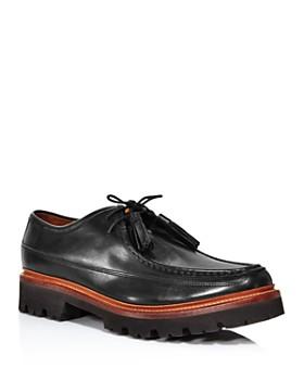 Grenson - Men's Bennett Apron-Toe Lug Sole Loafers