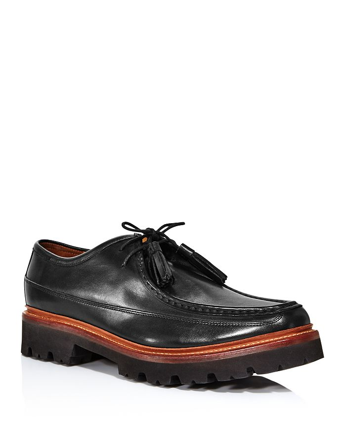 Grenson - Men's Bennett Apron-Toe Lug Sole Loafers
