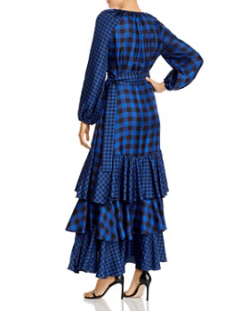 Paper London - Neli Mega Mix Silk Wrap Dress