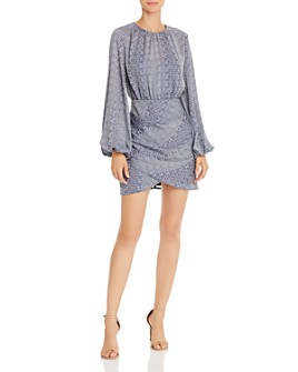 Finders Keepers - Catalina Abstract Snakeskin-Print Mini Dress