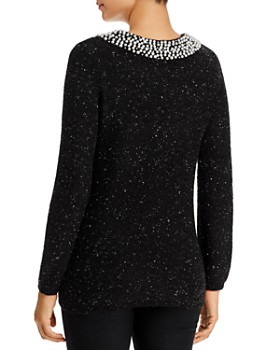 KARL LAGERFELD Paris - Embellished Sweater