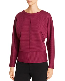Kenneth Cole - Ribbed Dolman Sweater
