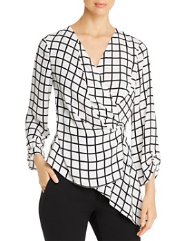 Kenneth Cole - Surplice Blouse
