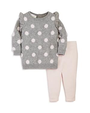 Bloomie's Girls' Polka Dot Sweater & Leggings Set, Baby - 100% Exclusive