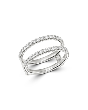 Bloomingdale's Diamond Classic Ring Guard in 14K White Gold, 0.50 ct. t.w. - 100% Exclusive