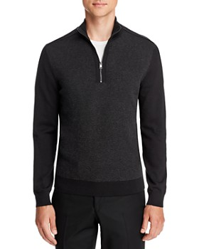 BOSS - Bagatti Quarter-Zip Sweater