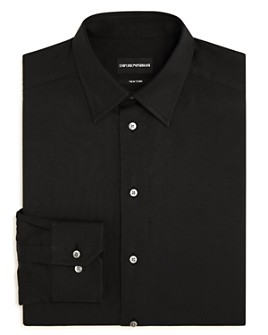 Armani - Solid Regular Fit Dress Shirt