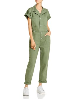 Pistola - Grover Button-Front Boilersuit