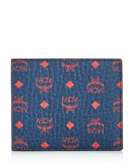 MCM - Visetos Original Flat Bi-Fold Wallet