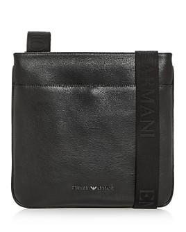 Armani - Leather Messenger Bag