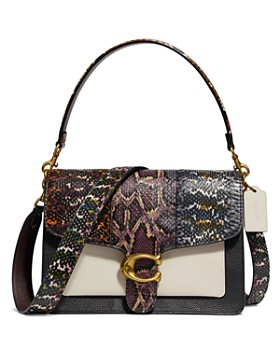 COACH - Tabby Snakeskin Shoulder Bag