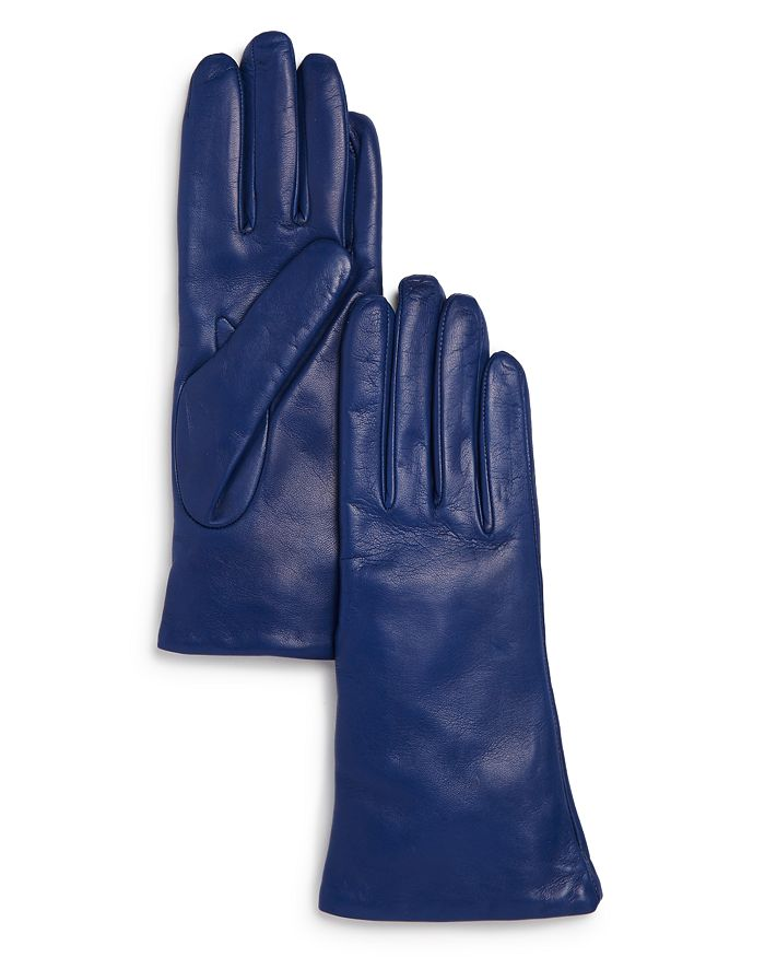 Bloomingdale's Gloves CASHMERE LINED LEATHER GLOVES - 100% EXCLUSIVE