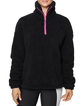 Betsey Johnson - Half-Zip Fleece Jacket