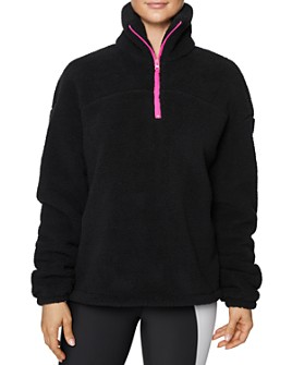 Betsey Johnson - Half-Zip Fleece Jacket