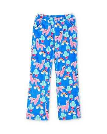 Candy Pink - Girls' Llama Print Pajama Pants - Little Kid, Big Kid