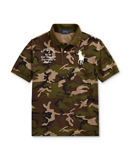Ralph Lauren - Boys' Big Pony Camo Polo Shirt - Big Kid