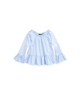 Ralph Lauren - Girls' Bell-Sleeve Top - Little Kid