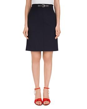 Gerard Darel - Thallia Belted A-Line Skirt