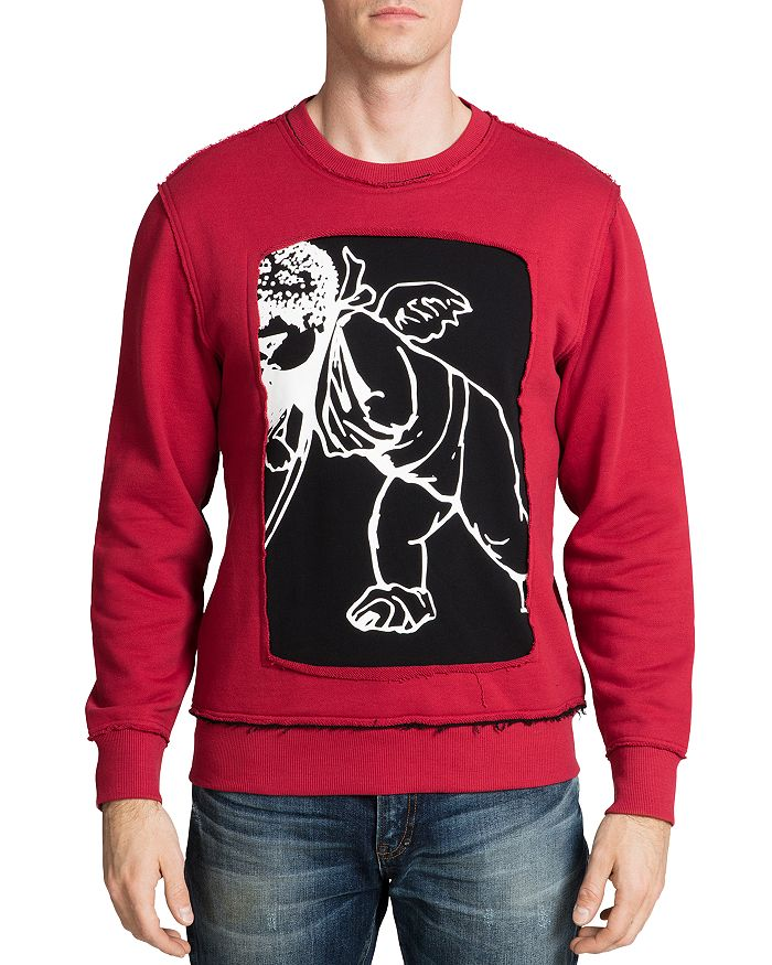 PRPS - Cherub Inset-Graphic Sweatshirt