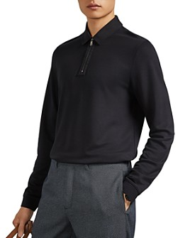 Ted Baker - Mytype Long Sleeve Regular Fit Polo Shirt