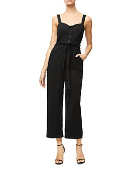 Good American - Belted Button-Front Jumpsuit
