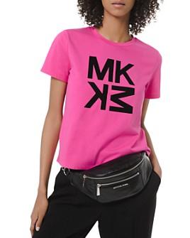MICHAEL Michael Kors - Directional Logo-Letter Tee