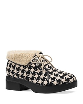 Gucci - Women's Houndstooth Booties