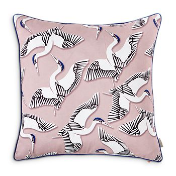 "Ted Baker - Crane Printed Decorative Pillow, 20"" x 20"""