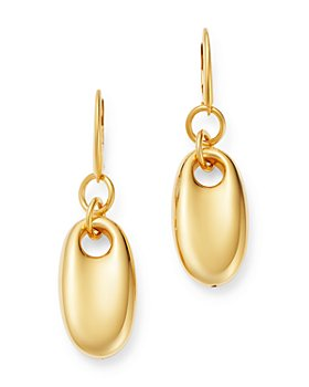 Bloomingdale's - Oval Puff Drop Earrings in 14K Yellow Gold - 100% Exclusive