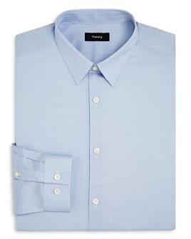 Theory - Cedrick Zino Micro Solid Slim Fit Dress Shirt
