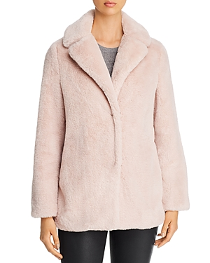 T Tahari Faux Fur Teddy Coat-Women