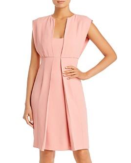 Armani - Layered-Look Sheath Dress