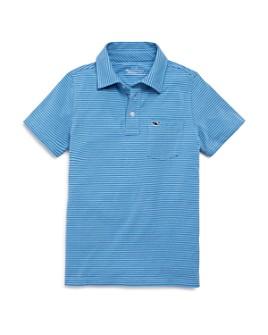 Vineyard Vines - Boys' Edgardtown Striped Polo Shirt - Little Kid, Big Kid