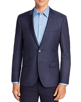 HUGO - Arti Houndstooth Check Extra Slim Fit Suit Jacket