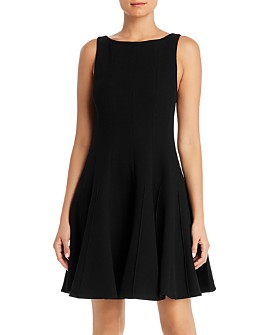 Armani - Wool Fit-and-Flare Dress