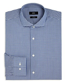 BOSS - Jason Plaid Slim Fit Dress Shirt